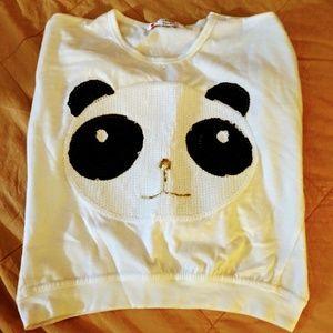 Other - Toddler girl panda shirt.